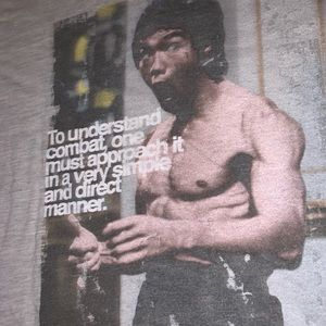 Other - Bruce Lee Graphic Tee